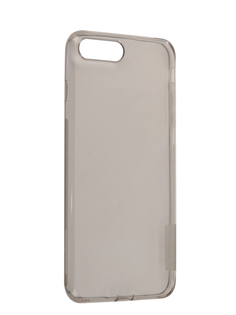 Аксессуар Чехол Nillkin Nature TPU для iPhone 7 Plus / 8 Plus Grey N-TPU AP-Iphone7 PLUS