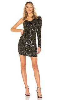 Платье с одним плечом molly - Parker
