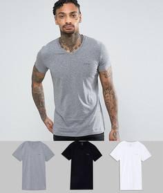 Комплект из 3 футболок с V-образным вырезом Diesel - Мульти