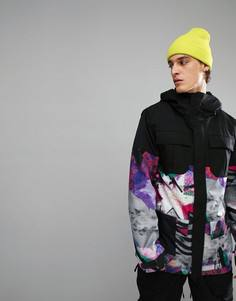 Теплая лыжная куртка Volcom Snow Alternate - Черный