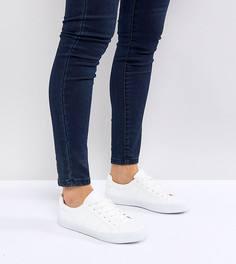 Кроссовки на шнуровке ASOS DEVLIN - Белый