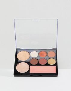 Палитра для макияжа NYX Professional Makeup Contour Intuitive - Warm Zone - Мульти