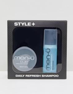Подарочный набор men-u Style + Clay - Бесцветный Men:U
