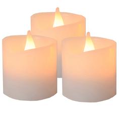 Светодиодная свеча Star Trading AB LED 3шт White 067-36