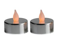 Светодиодная свеча Star Trading AB LED T-LIGHT 2шт Silver 066-04