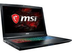 Ноутбук MSI GP72M 7RDX-1238RU Leopard 9S7-1799D3-1238 (Intel Core i7-7700HQ 2.8 GHz/16384Mb/1000Gb/No ODD/nVidia GeForce GTX 1050 4096Mb/Wi-Fi/Bluetooth/Cam/17.3/1920x1080/Windows 10 64-bit)