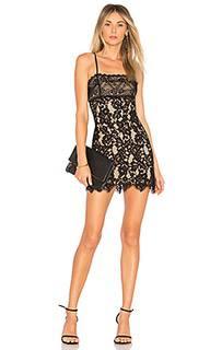 Кружевное мини-платье apollo - MAJORELLE