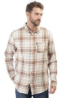 Рубашка в клетку Rip Curl Faded Check Shirt Bone White