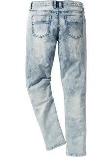 Трикотажные джинсы Skinny Fit Straight, длина (в дюймах) 32 (синий деним) Bonprix