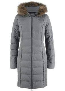 Пуховая куртка в стеганом дизайне (дымчато-серый) Bonprix