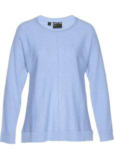 Пуловер (синий жемчуг) Bonprix