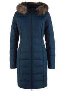 Пуховая куртка в стеганом дизайне (темно-синий) Bonprix