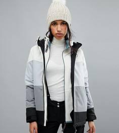 Горнолыжная куртка в полоску ONeill - Белый Oneill