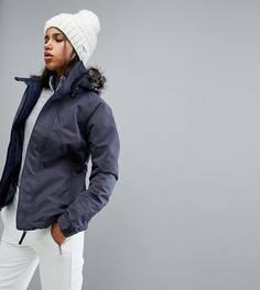 Горнолыжная куртка с искусственным мехом на капюшоне ONeill - Темно-синий Oneill