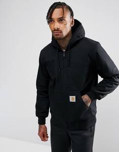 Водоотталкивающая куртка из парусины Carhatt WIP Active - Черный