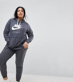 Серые спортивные штаны Nike Plus Gym Vintage - Серый