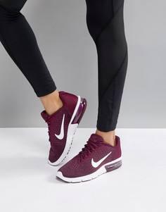 Фиолетовые кроссовки Nike Running - Фиолетовый