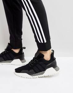 Черные трикотажные кроссовки adidas Originals H.F/1.4 BY9395 - Черный