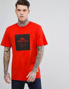 Оранжевая футболка классического кроя с логотипом Penfield Brockton - Оранжевый