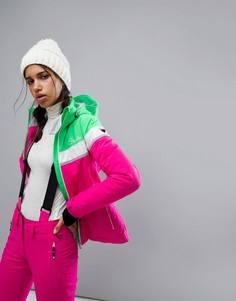 Дутая горнолыжная куртка Dare2be Premiss - Розовый