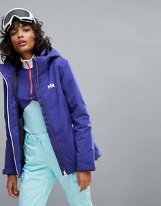 Фиолетовая куртка с капюшоном Helly Hansen - Фиолетовый
