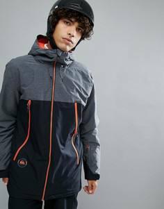 Черная горнолыжная куртка с контрастной отделкой Quiksilver Sierra - Черный