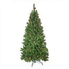 Искусственная Ель Crystal Trees Триумфальная с шишками 180cm KP8518