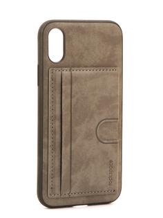 Аксессуар Чехол Rock Space Cana Kickstand для iPhone 8 Grey 08162