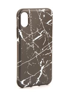 Аксессуар Чехол Rock Origin Grained для iPhone 8 Stone Black 07899