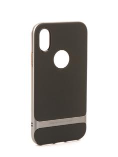 Аксессуар Чехол Rock Royce для iPhone 8 Black-Grey 08629