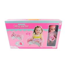 Кукла China Bright Пупс с кроваткой и аксессуарами 1490355
