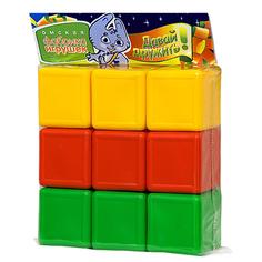 Игрушка Омская фабрика игрушек Кубики цветные 0350
