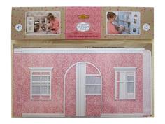 Игра ЯиГрушка Обои и ламинат для кукольного домика Pink 59505-1