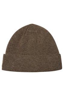 Коричневая кашемировая шапка Canali
