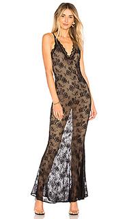 Ажурное макси платье camryn - MAJORELLE
