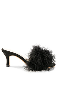 Туфли с перьями shoes - RAYE