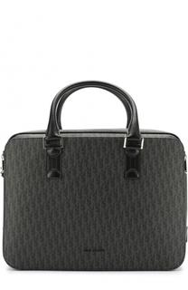 Комбинированная сумка для ноутбука с плечевым ремнем Dior