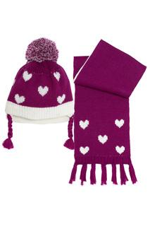 Комплект: шапка, шарф Chicco
