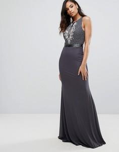 Платье макси Jovani - Черный