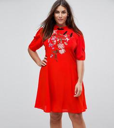 Платье мини ASOS CURVE - Красный