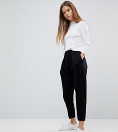 Трикотажные брюки галифе ASOS PETITE Ultimate - Черный