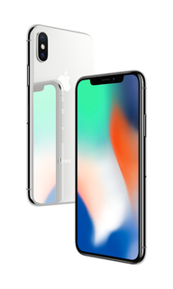 Сотовый телефон APPLE iPhone X 256Gb Silver MQAG2RU/A