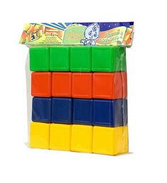 Игрушка Омская фабрика игрушек Кубики цветные 0330