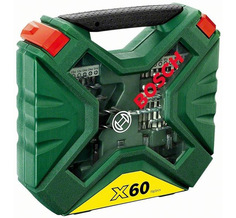 Набор инструмента Bosch X-Line-60 2607010611