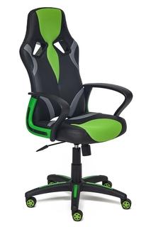 Компьютерное кресло TetChair Runner Black-Green 36-6/tw26/tw-12