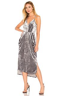 Миди платье с ложным запахом - BCBGeneration