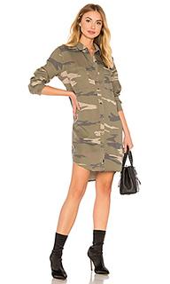 Платье с камуфляжным принтом julian - Rails