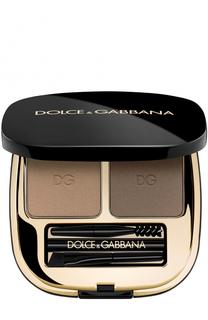 Набор теней для коррекции бровей, оттенок 1 Natural Blond Dolce & Gabbana