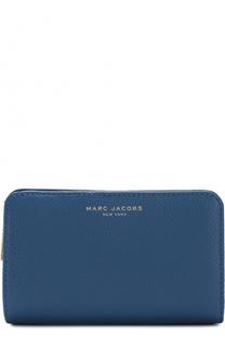 Кожаный кошелек с логотипом бренда Marc Jacobs