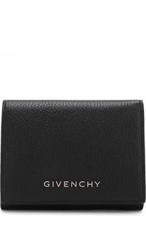 Кожаный кошелек с логотипом бренда Givenchy